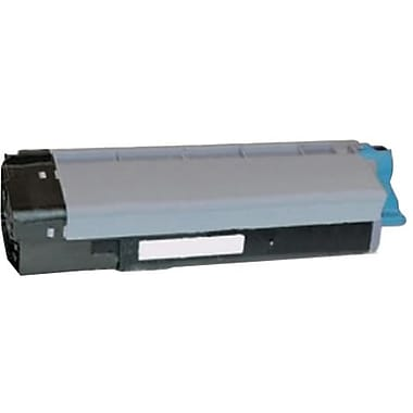 OKI Cyan Toner Cartridge (43324476), High Yield