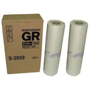Risograph Black Master Roll (S-2659), 2/Pack