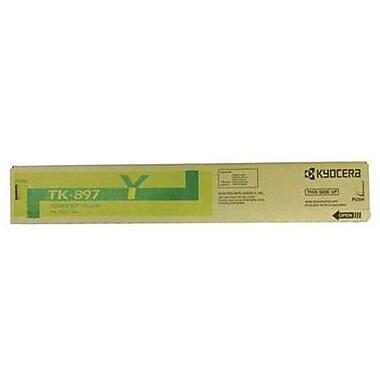 Kyocera Mita TK-897Y Yellow Toner Cartridge (1T02K0AUS0), Standard