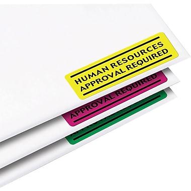 Avery® - Étiquettes voyantes aux couleurs fluo pour imprimantes laser