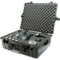 Pelican 1600 Case with Foam, Black