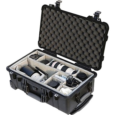 Pelican 1510 Carry on Case with Foam, Black