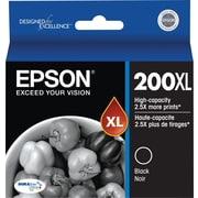 Epson 200XL Black Ink Cartridge (T200XL120), High Yield