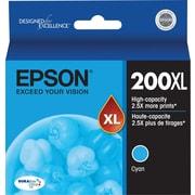 Epson T200XL220 Cyan Ink Cartridge, High-Yield
