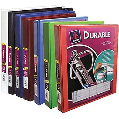 Avery® Durable Slant D-Ring View Binder, 1