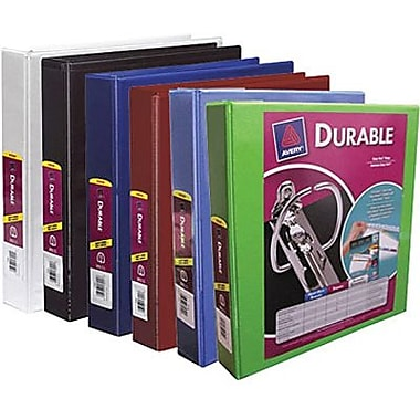 Avery® Durable Slant D-Ring View Binder, 1-1/2