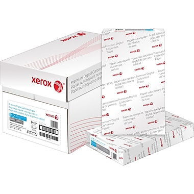 Xerox Carbonless Paper, 2 Part, Straight/Reverse, 8-1/2