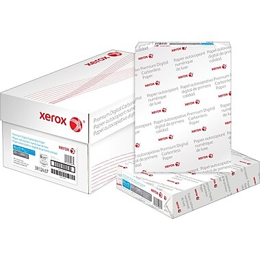 Xerox Carbonless Paper, Single, Straight, 8-1/2
