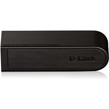 D-Link® DUB-E100 Fast Ethernet 10/100 USB 2.0 Ethernet Desktop Adapter