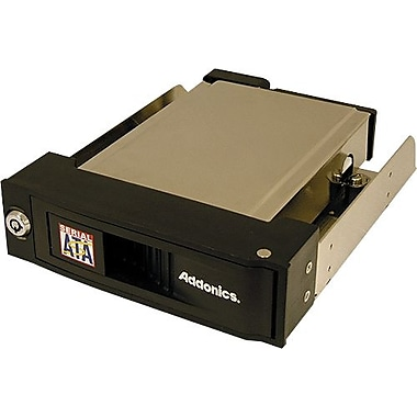 Addonics® Snap-In SATA Mobile Rack, 1.7in.(L) (AESNAPMRSA)