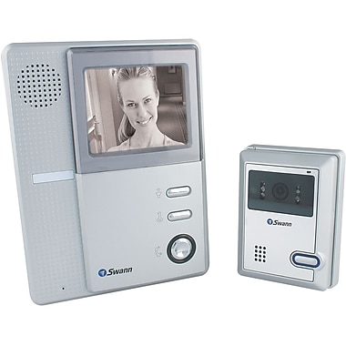 Swann™ SW244-BVD DIY B and W Video Doorphone With High Resolution Intercom