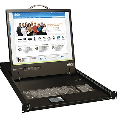 Tripp Lite B021-000-19 Rackmount Console With 19in. LCD, 3 Ports