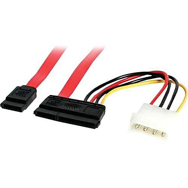 STARTECH.COM® Serial ATA Data and Power Combo Cable, 24in.(L) (SATA24POW)