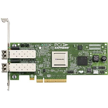 Emulex® LightPulse E12002 8 GB Dual Port Fibre Channel Host Bus Adapter