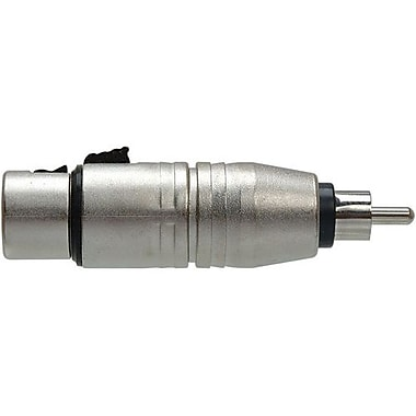 Hosa Technology GXR-134 XLR Female Audio To RCA Male Audio Adapter
