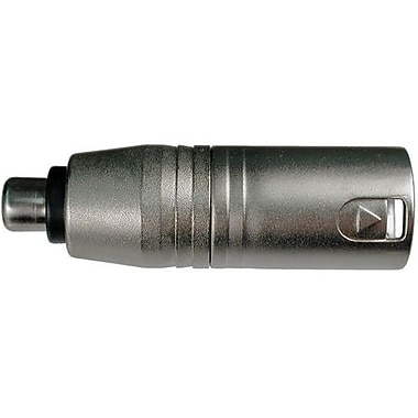Hosa Technology GXM-133 RCA Female To XLR Male Audio Adapter