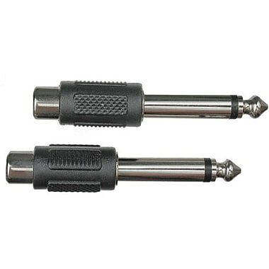 Hosa Technology GPR-101 RCA Femake To TS Male Audio Adapter