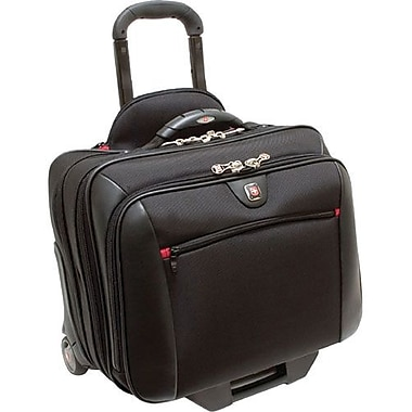 SwissGear® WA-7966-02F00 Potomac Rolling Case For 17in. Notebooks