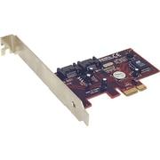 Addonics® 2 Port SATA II PCI Express Controller Card (AD2SA3GPX1)