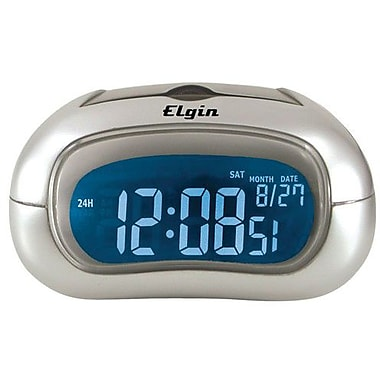 Geneva Clock 3455E Electric LCD Table Alarm Clock