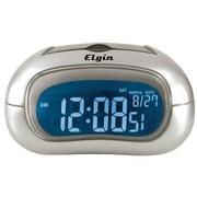 Geneva Clock 3455E Electric LCD Table Alarm Clock