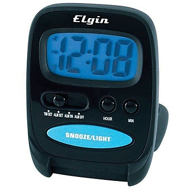 Geneva Clock 3502E LCD Travel Alarm Clock