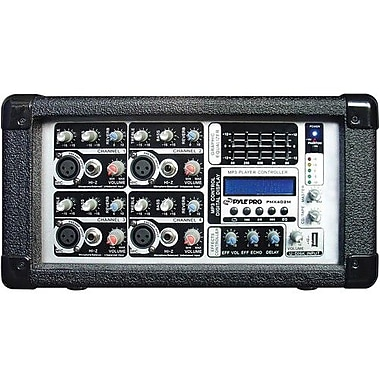 Pyleaudio® PMX402M 4 Channel Audio Mixer, 4 Ports