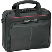Targus® CN31US Classic Clamshell Carrying Case For 16 Laptops, Black/Red