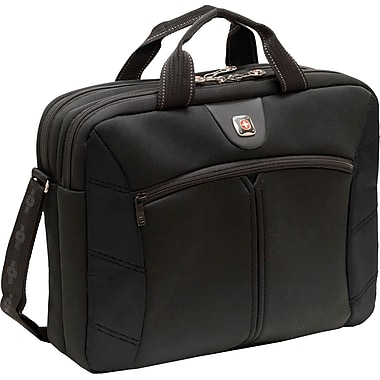 SwissGear® GA-7465-02F00 Sherpa Carrying Case For 16in. Laptops, Black