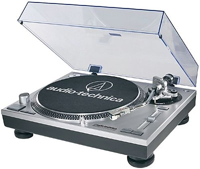 Audio-Technica AT-LP120USB Direct-Drive Professional Turntable, 33.33/45 RPM/78