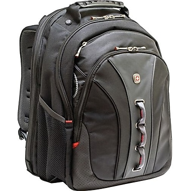 SwissGear® WA-7329-14F00 Legacy Backpack For 15.6in. Notebook, Black