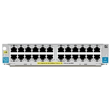 HP® J9307A 24-Ports 10/100/1000 PoE+ Gigabit Ethernet Switching Module For HP E5406, E5412, E8206