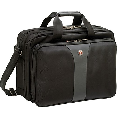 SwissGear® WA-7657-14F00 Legacy Carrying Case For 14.1in. Laptops, Black