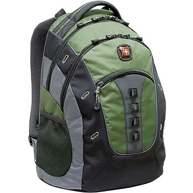 SwissGear® GA-7335-07F00 Granite Computer Backpack For 15.6in. Notebook, Green