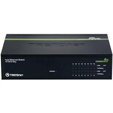 TRENDNET  TE100-S16Eg GREENnet Switch, 16 Ports
