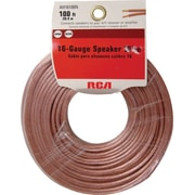 Voxx® RCA AH16100N Speaker Wire Audio Cable, 100'