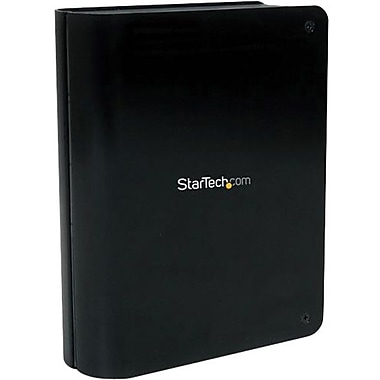 StarTech.com® SAT3510BU3 External Hard Drive Enclosure With Fan