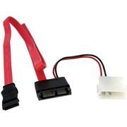 """StarTech Serial ATA Cable, 20""""(L) (SLSATAF20RA)"""