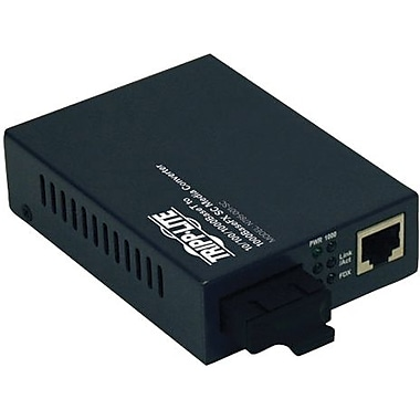 Tripp Lite® N785-001-SC Fiber Optic GIG Media Converter
