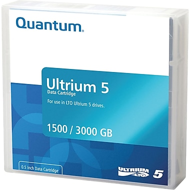 Quantum  MR-L5MQN-01 LTO Data Cartridge, 1.50 TB (Native)/3 TB (Compressed)