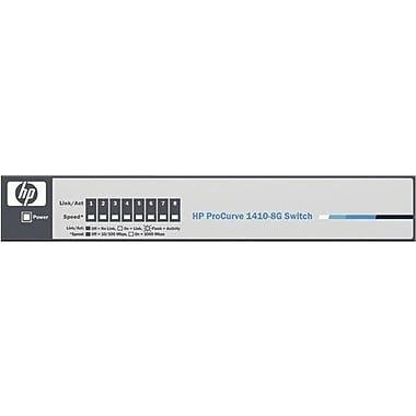 HP® 1410-8G 8-Port 10/100/1000 Gigabit/Fast Ethernet Unmanaged Switch