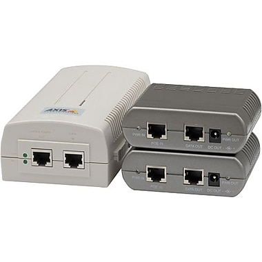 AXIS 5014-204 High Power Over Ethernet Midspan and Splitter For AXIS Network Cameras PTZ, PTZ Dome