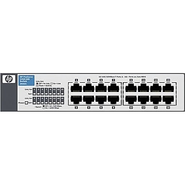 HP® 1410-16G ProCurve Gigabit Ethernet Switch, 16 Ports