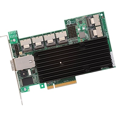 LSI Logic® 6 Port MegaRAID SAS RAID Controller Card (9280-24i4e)