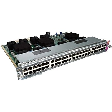 Cisco™ WS-X4748-RJ45V+E= 48 Port PoE 802.3AT-10/100/1000 RJ45 Line Card PoE