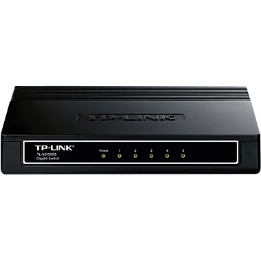 TP-LINK® TL-SG1005D Desktop Switch, 5 Ports