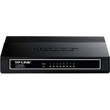TP-LINK TL-SG1008D 10/100/1000Mbps 8-Port Gigabit Desktop Switch, 10Gbps Switching Capacity
