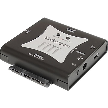 STARTECH.COM® SATDUPUE Standalone Hard Drive Duplicator Dock, USB 2.0 and eSATA Interface