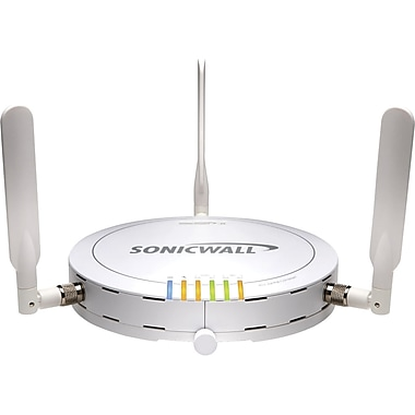 Sonicwall® 01-SSC-9293 SonicPoint-N Dual-Radio Wireless Access Point, Up to 300 Mbps