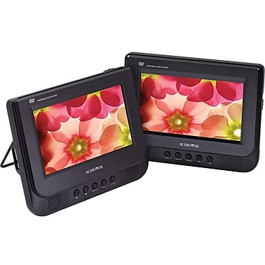 Audiovox® D7121ESK 7in. Dual Screen Portable DVD Player
